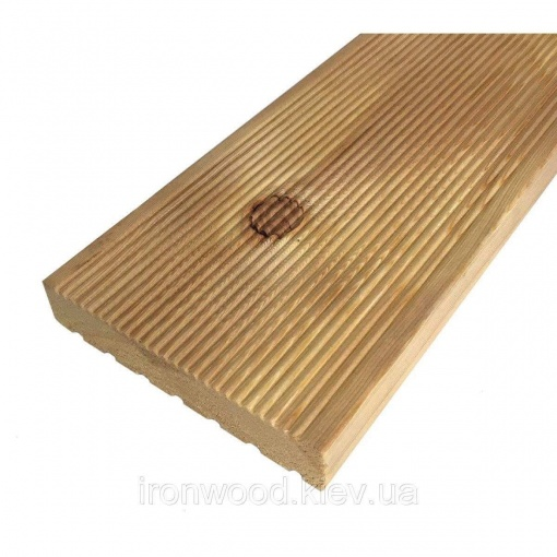 Террасная доска из лиственницы 27х120х3000 Экстра